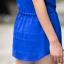 เสื้อทีเชิ้ตไซส์ใหญ่ ใส่สบาย แขนสั้น สีน้ำเงิน/สีบานเย็น (XL,2XL,3XL,4XL,5XL) thumbnail 5