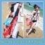 ผ้าคลุมชายหาด : สีผสมโทนอ่อนสลับเข้ม AB0016 thumbnail 2