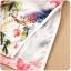 ชุดกี่เพ้าสั้นไซส์ใหญ่ แขนล้ำ ลายดอกไม้ (XL,2XL,3XL) thumbnail 5