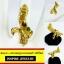 INSPIRE JEWELRY แหวนพญานาคฝังพลอยนพเก้า ฟรีไซด์ พร้อมถุงกำมะหยี่ ตัวเรือนชุบเศษทองแท้ 100% gold plated thumbnail 1
