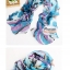 ผ้าพันคอแฟชั่นผ้าพันคอสวยหรู Luxury : สีฟ้า CK0012 thumbnail 2