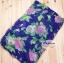 ผ้าพันคอแฟชั่นลายป่า Aavatar forest : สีน้ำเงิน CK0202 thumbnail 2