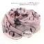 ผ้าพันคอแฟชั่นลายวินเทจ Vintage : สีชมพู CK0137 thumbnail 3