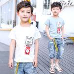 pr3259 เสื้อยืด เด็กโต 140-160 3 ตัวต่อแพ็ค