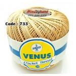 ด้ายถัก Venus Cotton Solf รหัสสี 733