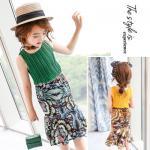 hh248 เสื้อ+กระโปรง เด็กโต size 140-160 3 ตัวต่อแพ็ค