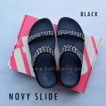 **พร้อมส่ง** FitFlop : NOVY Slide : Black : Size US 7 / EU 38