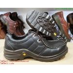 รองเท้าหนัง Caterpillar หนังแท้100% size 40-44 (สีน้ำตาลเข้ม)