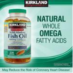 Wild Alaskan Fish Oil 1400mg 230 เม็ด รวมสารพัดOmegaถึง8ตัว สูงถึง1050mg ดูแลหัวใจ,ลดไขมันในเลือดครบ (สินค้าแนะนำ exp.06/2019 ) หมด-มา3กค