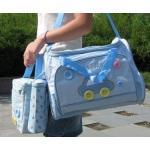 กระเป๋าสัมภาระคุณแม่ เซต 3 ใบ สีฟ้า