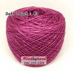 ไหมซอฟท์ทัช (Soft Touch) สี 43 สีม่วงฟลามิงโก้