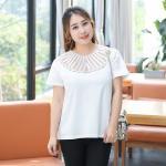เสื้อยืดไซส์ใหญ่ สีขาว (XL,2XL,3XL,4XL)