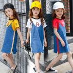 hh227 เสื้อ+เดรสยีนส์ เด็กโต size 140-160 3 ตัวต่อแพ็ค