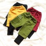 qm12 กางเกงขายาว size 100-140 5 ตัวต่อแพ็ค