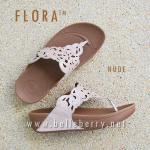 **พร้อมส่ง** รองเท้า FitFlop FLORA Sparkle : Nude : Size US 7 / EU 38