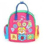 กระเป๋าเป้ + กระเป๋าถือ Pororo สีชมพู