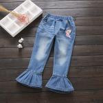 su3098 กางเกงยีนส์ขายาว size 110-150 5 ตัวต่อแพ็ค