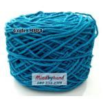 เชือกฟอก สีพื้น รหัสสี 004 สีฟ้าเข้ม