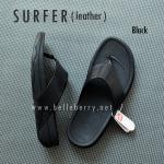 * NEW * FitFlop Men's : SURFER : Black : Size US 12 / EU 45