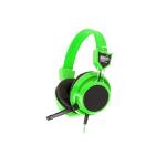 "HeadSet+Mic ""SIGNO"" (HP-802) Green"
