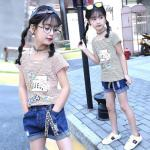 hz1798 เสื้อ+กางเกง เด็กโต size 120-160 5 ตัวต่อแพ็ค
