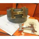 เข็มขัด Hermes งานมิลเลอร์ สายกว้าง 1.5นิ้ว หัวสีทอง