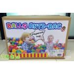 UT-5906 ลูกบอลใส Anti Bacterial (285ลูก) in box