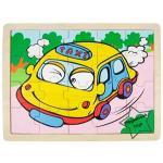 2SW-F041 ภาพจิ๊กซอว์ชุดยานพาหนะ (20 ชิ้น) รถแท็กซี่