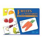 SKF-07 บัตรคำ-บัตรภาพ ชุดผัก-ผลไม้