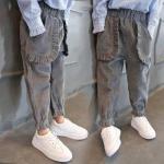 qm02 กางเกงขายาว size 100-140 5 ตัวต่อแพ็ค