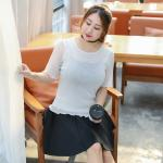 เสื้อยืดสีขาว แขนสั้น (XL,2XL,3XL)