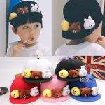 yu888 หมวกเด็ก 5 ใบต่อแพ็ค คละสี