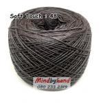 ไหมซอฟท์ทัช (Soft Touch) สี 48 สีเทาเข้ม