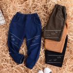 su3111 กางเกงขายาว size 100-140 5 ตัวต่อแพ็ค
