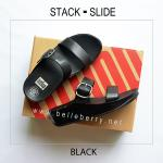 * NEW * FitFlop : STACK SLIDE : Black : Size US 6 / EU 37