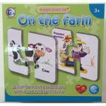 PS-3046 Happy stitching อยู่ในฟาร์ม (On the farm)