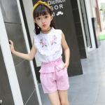 เสื้อ+กางเกง เด็กโต 140-160 3 ตัวต่อแพ็ค**พร้อมส่ง** สีชมพู