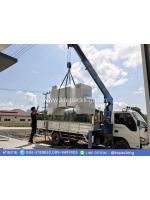 จัดส่งพร้อมติดตั้งเครื่องห่อแพ็คโหลขวดน้ำดื่ม แบบกึ่งอัตโนมัติ รุ่น BZJ-5038B+BSE-5040A ที่ อ.เมือง จ.พังงา กำลังผลิต 6แพ็ค/นาที ใช้งานง่าย ใช้ฟิล์มพีอี ข้อดีคือ เหนียวไม่ขาดง่าย