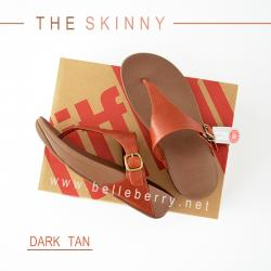 FitFlop The Skinny : Dark Tan : Size US 7 / EU 38