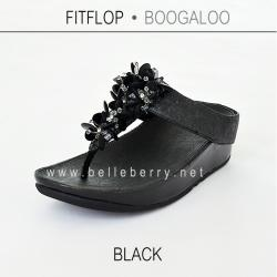 FitFlop : BOOGALOO : Black : Size US 7 / EU 38