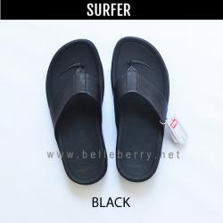 FitFlop Men's : SURFER : Black : Size US 08 / EU 41