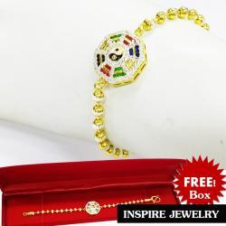 Inspire Jewelry สร้อยข้อมือหยินหยาง 2 กษัตริย์ หรือยันต์แปดทิศ สร้อยข้อมือความยาว 7 นิ้ว เครื่องประดับมงคล หมายถึง อำนาจที่มีบทบาทต่อกันของจักรวาลนักปราชญ์ ชาวจีนเชื่อว่า หยิน-หยาง ... ดังนั้น สัญลักษณ์หยิน-หยาง จึงแทนความสมดุลของพลังในจักรวาล.