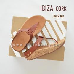 FitFlop IBIZA Cork : Dark Tan : Size US 5 / EU 36