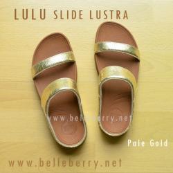 **พร้อมส่ง** รองเท้า FitFlop Lulu Slide Lustra : Pale Gold : Size US 6 / EU 37