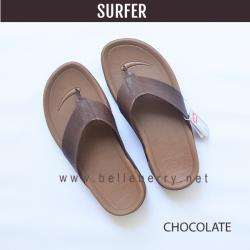 FitFlop Men's : SURFER : Chocolate Brown : Size US 08 / EU 41