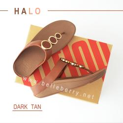 FitFlop : HALO : Dark Tan : Size US 7 / EU 38