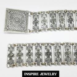 Inspire Jewelry เข็มขัดเทียมเงิน รมดำ สวยงามมากเข็มขัดเทียมเงิน รมดำ สวยงาม ปราณีต ราคาประหยัด ใช้ตกแต่งเสื้อผ้าไทย หรือใส่ประดับ ผ้าซิ่น ผ้าถุง