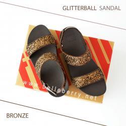 FitFlop : GLITTERBALL Sandal : Bronze : Size US 6 / EU 37