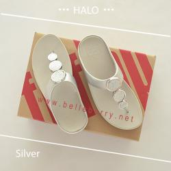 FitFlop : HALO : Silver : Size US 6 / EU 37