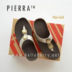 * NEW * FitFlop Pierra : Pale Gold : Size US 5 / EU 36
